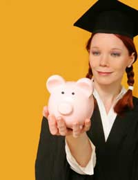 University Expenses Saving For Kids'